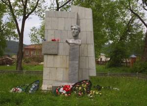 Юрюзань памятник Кукарину И.А.