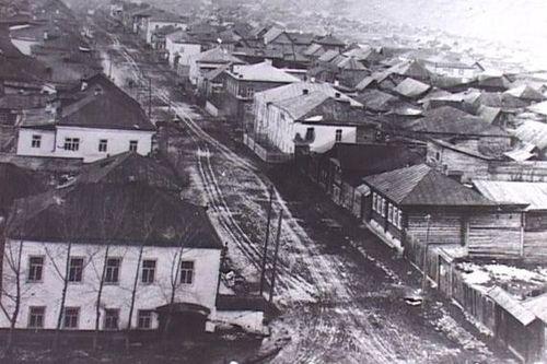 Катав - Ивановск. Начало века. Фото из архива В.И. Хохлова