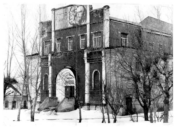 Кинотеатр Кировец в здании Юрюзанской церкви