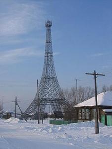 Эйфелева башня в с.Париж Челябинской области