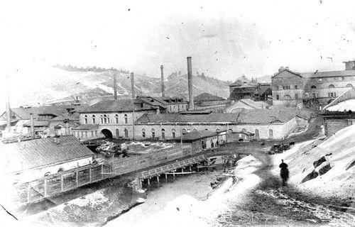 Вид Катав-Ивановского завода