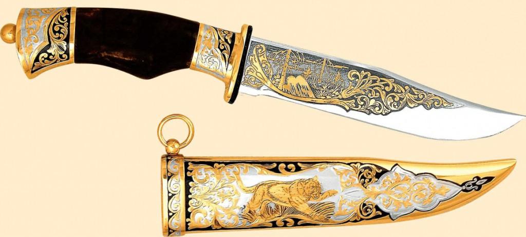 Златоустовская гравюра на клинках