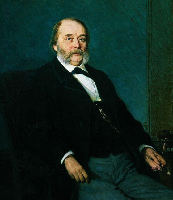 Иван Крамской. Портрет Ивана Андреевича Гончарова