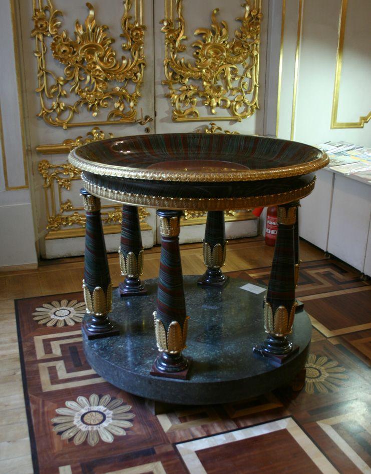 Чаша, 1827-1831, Кошкульдинская яшма, золоченая бронза