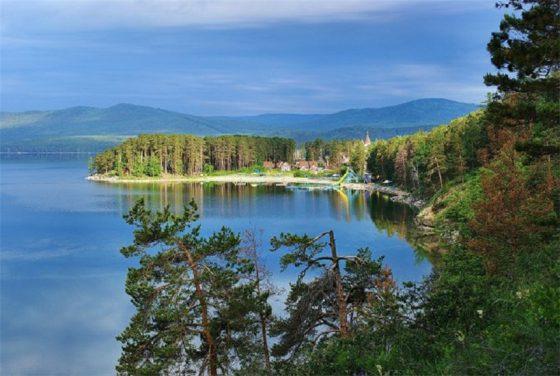 Миасс. озеро Тургояк