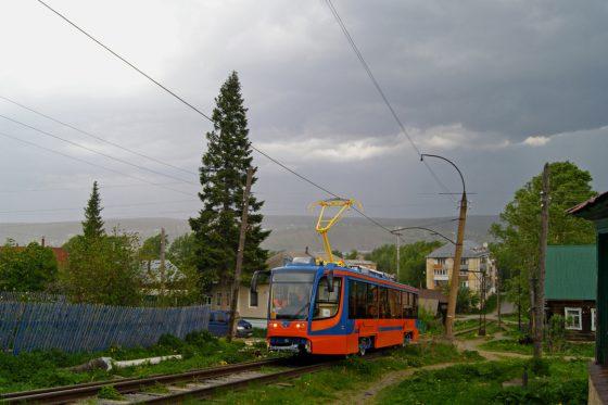 Усть-Катав. Трамвай