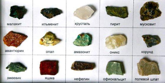 Минералы Урала