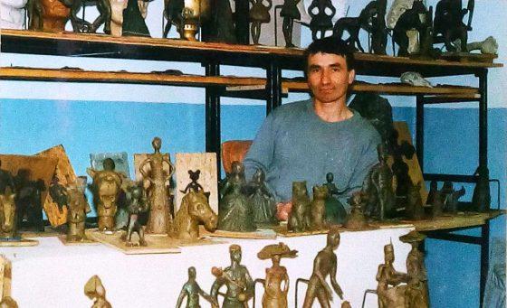 Чернецов А. М. скульптор Юрюзань