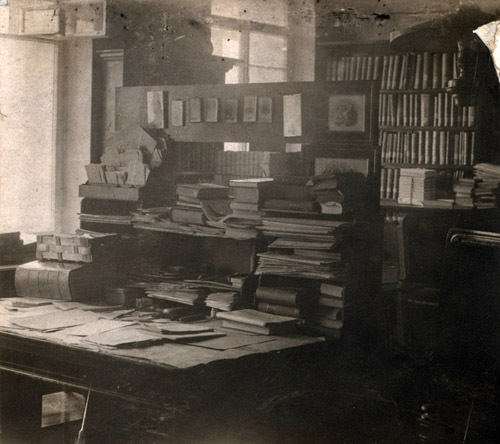 Кабинет Менделеева на снимке Прокудина-Горского
