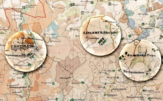 Карта Фуниковой горы
