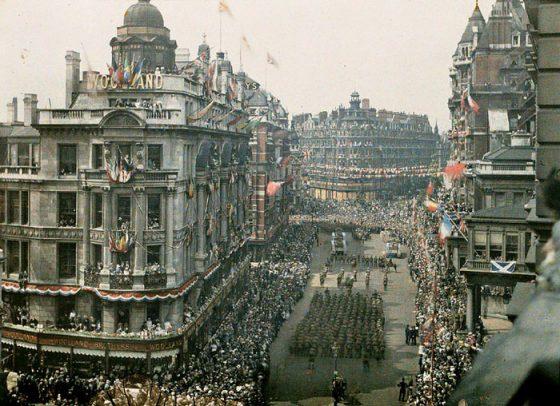 Лондон 1919