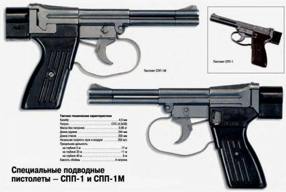 Подводный пистолет АО-45 (СПП-1)