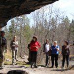 У входа в Игнатьевскую пещеру