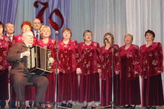 П.М. Любимов и хор Русская песня