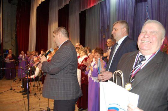 П. М. Любимов с медалью