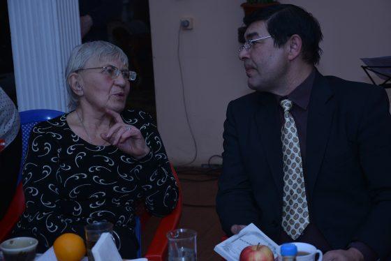 Челябинский поэт Александр Максимов и поэтесса Нелли Ваторпина