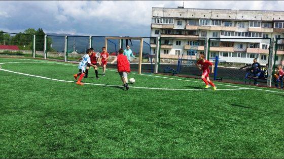 Соревнования по футболу. город Юрюзань